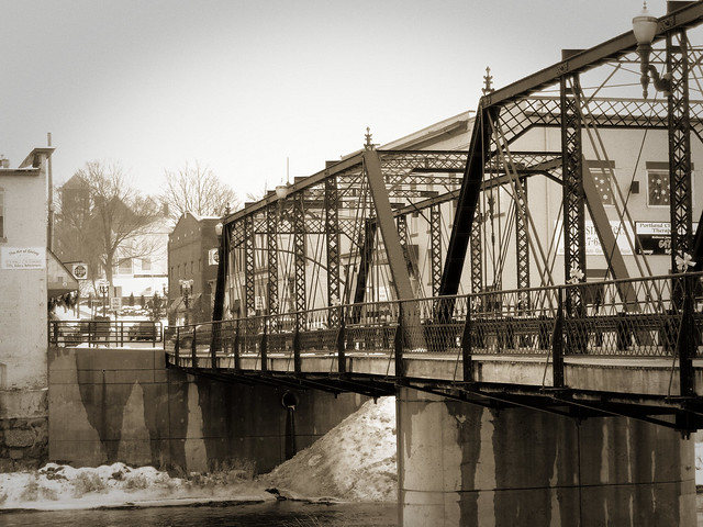 Bridge Street Bridge, Portland, Michigan