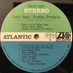 ARETHA FRANKLIN:LADY SOUL(LABEL SIDE-B)