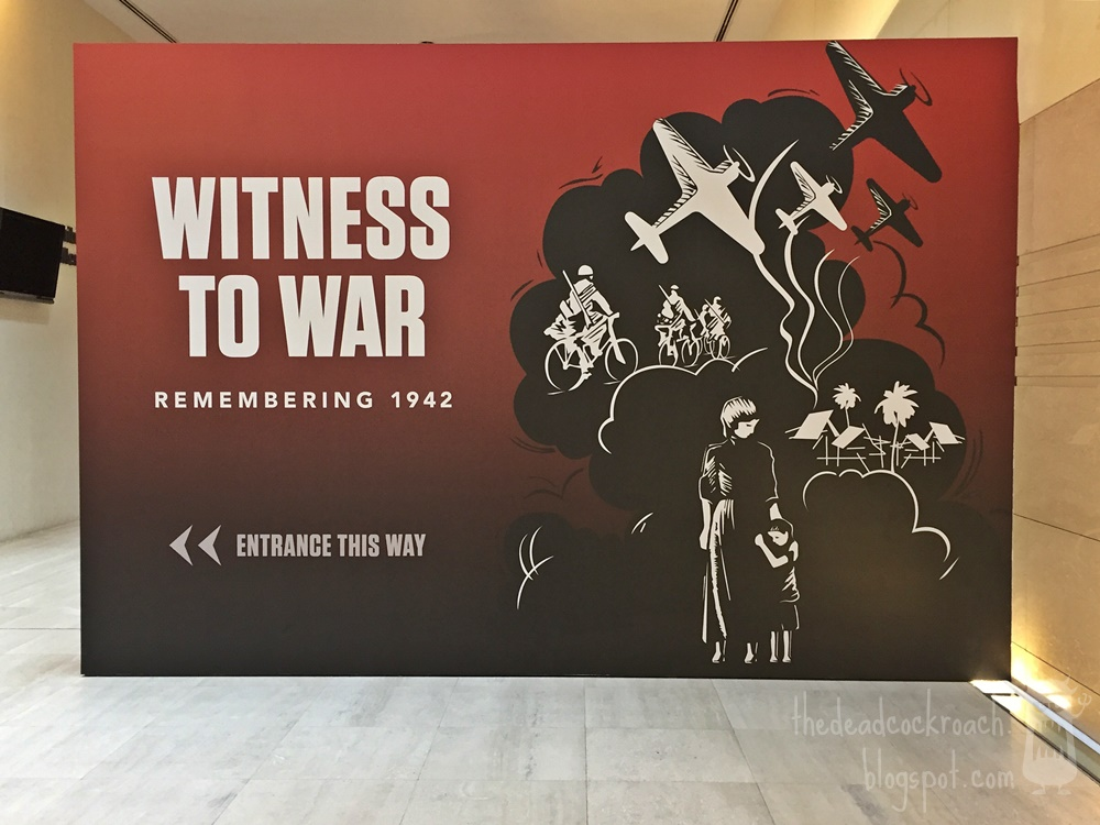 fall of singapore, history, japanese occupation, museums, national museum of singapore, personal, remembering 1942, second world war, singapore history, singapura, witness to war