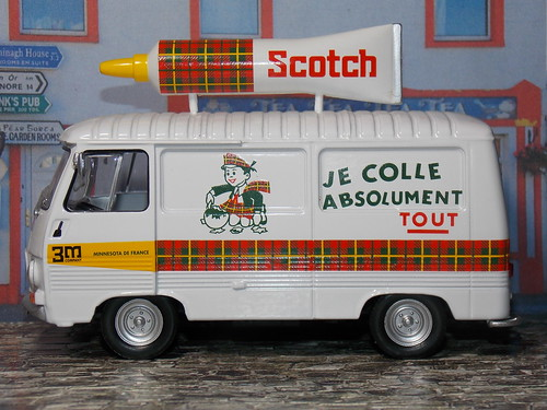 Peugeot J7 - Scotch - 1965 - Altaya