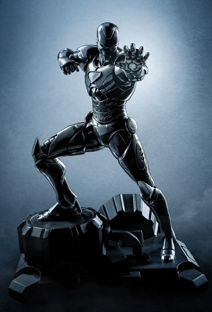 鋼鐵人最強姿態,絕境盔甲登場!!Royal Selangor Marvel Comics【鋼鐵人】Iron Man 合金雕像作品