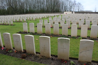 Sanctuary Wood Commonwealth War Graves Commission Cemetery - Hooge, Belgium, Friday 29th December 2017 | by CDay86