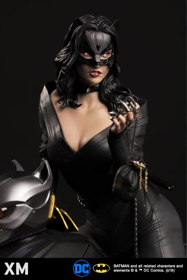 無法抗拒的致命魅力!! XM Studios Premium Collectibles DC【貓女】Catwoman 1/4 比例全身雕像作品
