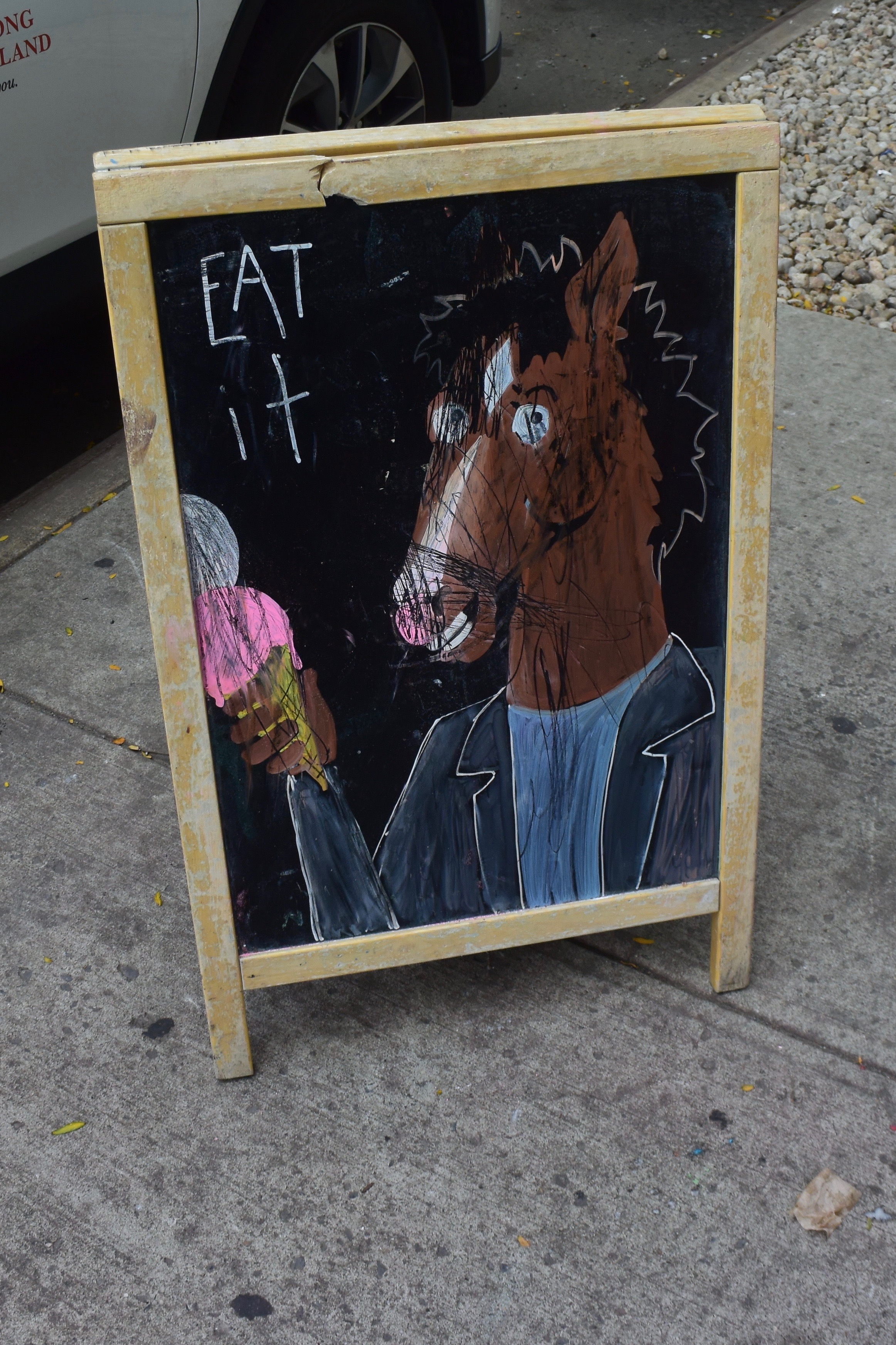 Brooklyn street art - horse