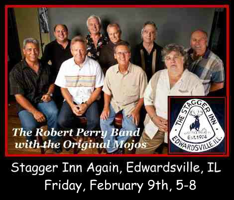 Robert Perry Band with the Original Mojos 2-9-18