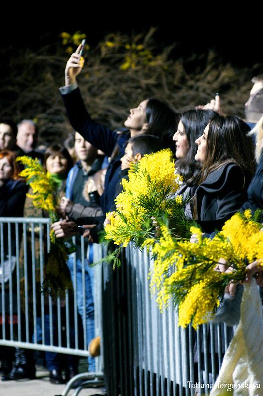 Публика перед сценой