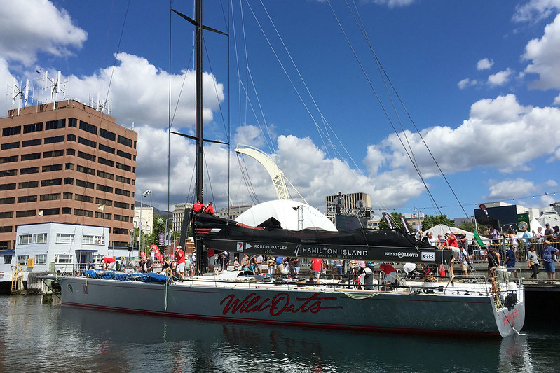 Wild Oats XI at Constitution Dock