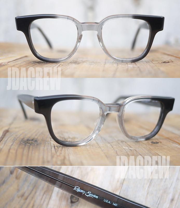 ヴィンテージタートオプティカル眼鏡ブライアンレジェンシーグレー