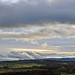 Clouds over the Far Eastern Fells from Penrith.