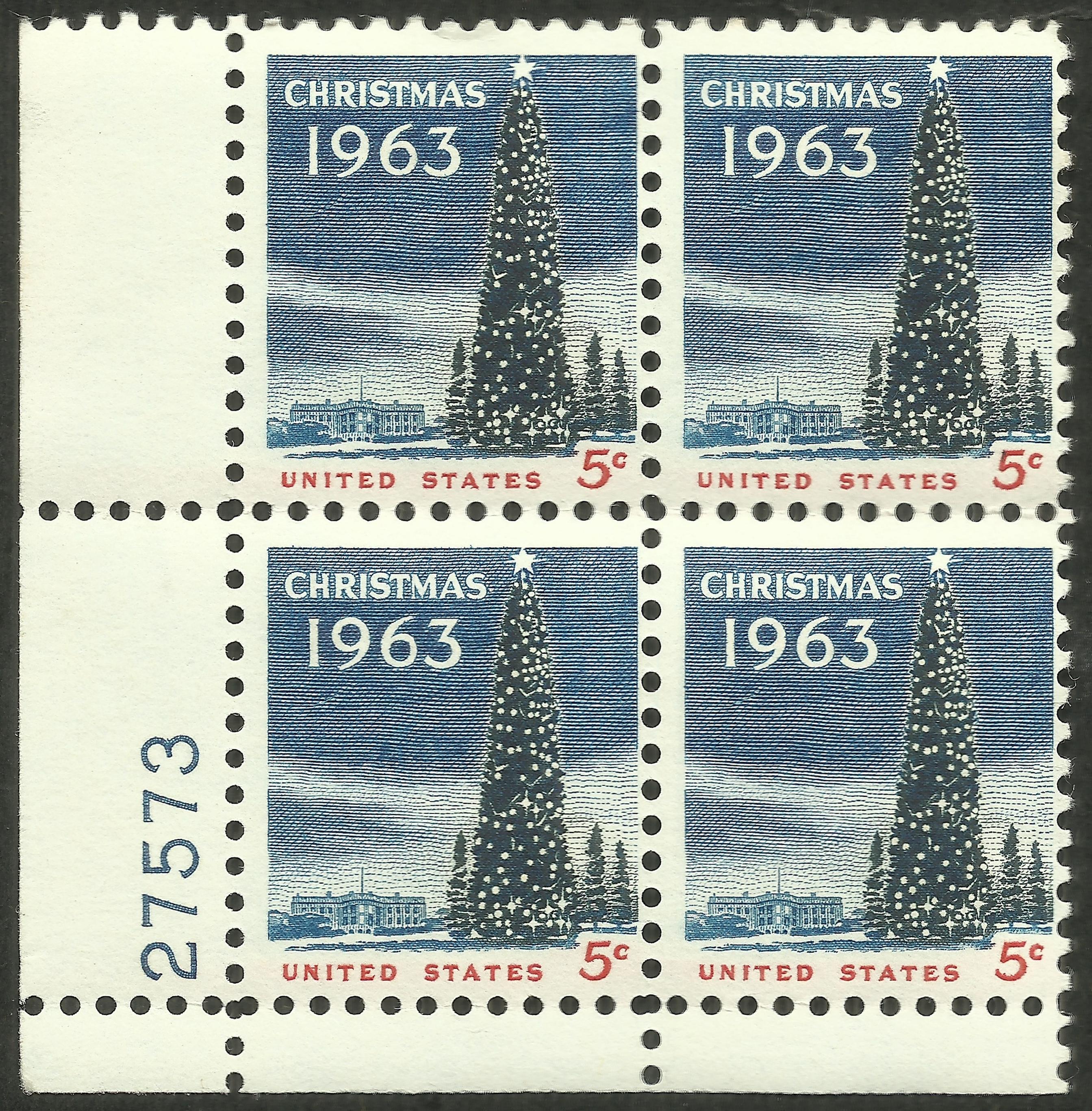 United States - Scott #1240 (1963)