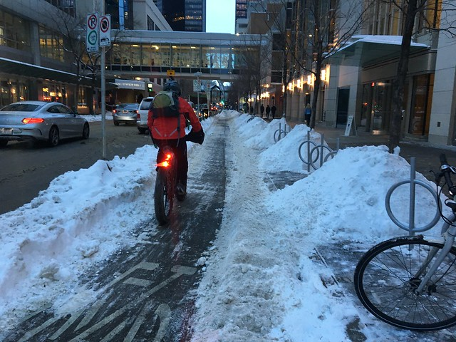 Winter Cycling in Calgary