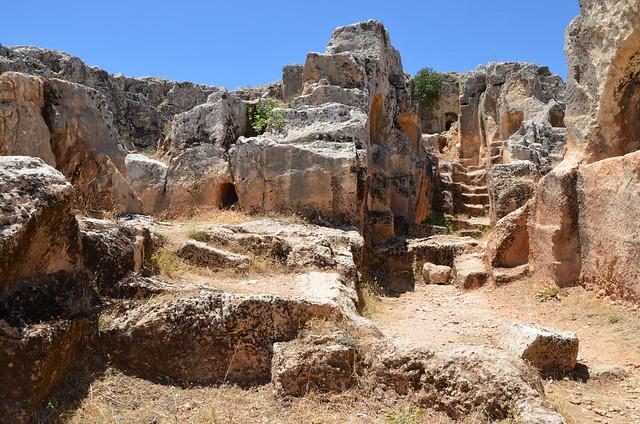 The necropolis of Perrhe, Turkey