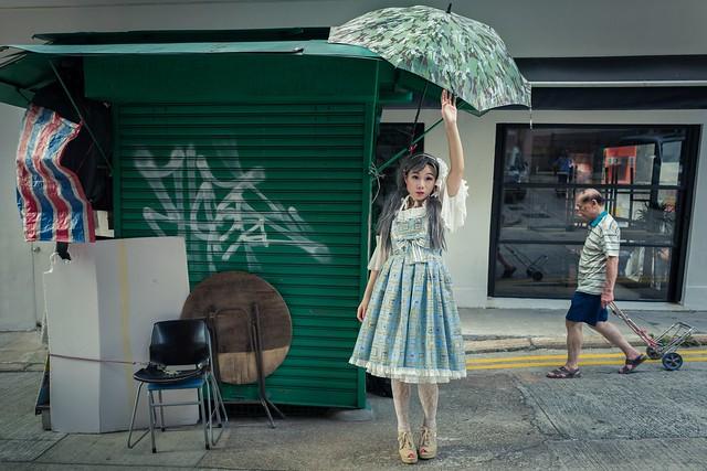 Loli-Lala x Hong Kong street