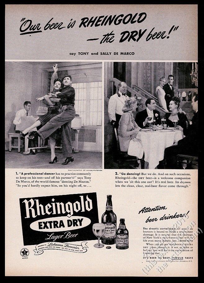 1946-Rheingold-Beer-Tony-and-Sally-De-Marco