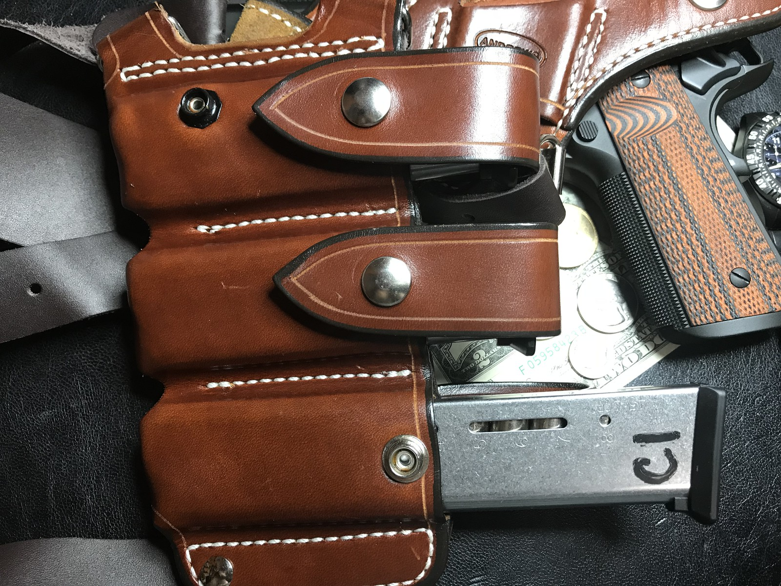 Professional with New Andrews Leather - 1911Forum