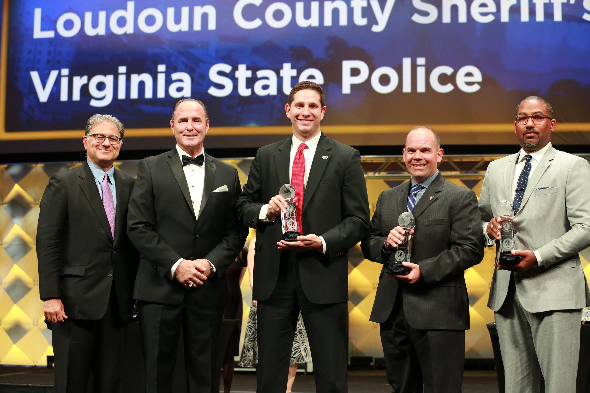IACP Booze Allen Hamilton Leadership in the Prevention of Terrorism Award - VSP, LC, FBI