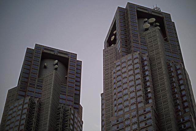 新宿散歩 新都心