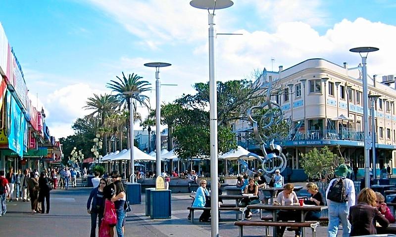 Manly Sydney beach-side suburb