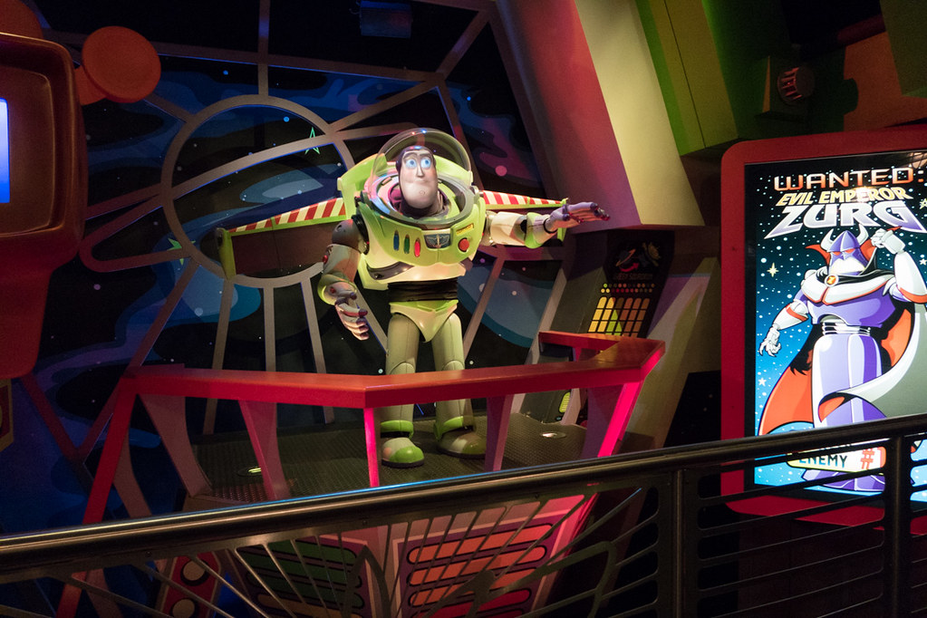 Buzz Lightyear Ride
