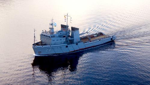 """aviso ARA """"Islas Malvinas"""""""