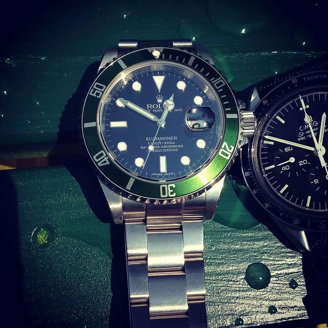 Rolex 16610 LV 16610LV Anniversary Submariner