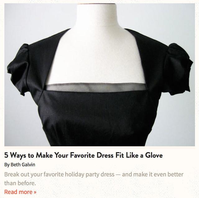 Craftsy black dress with organza trim