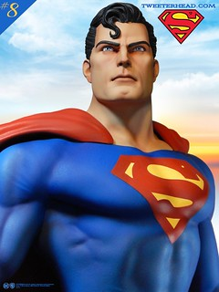 復古味滿滿滿!~ Tweeterhead Super Powers 系列【超人】Superman Maquette 1/6 比例全身雕像作品