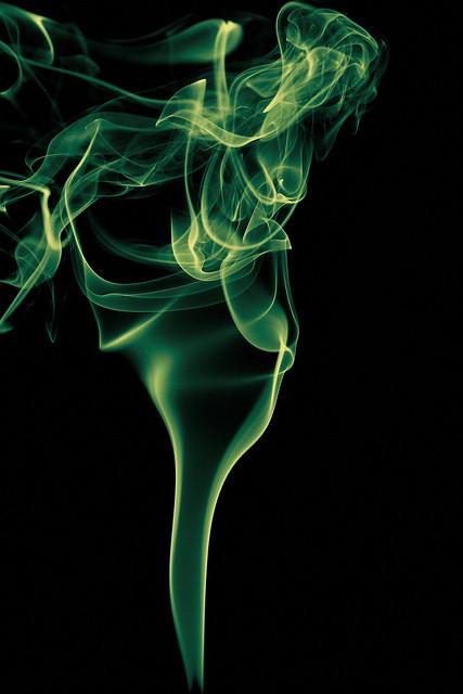 Smoke fountain II