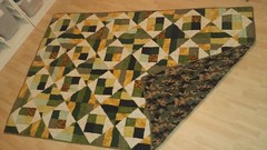 Camp quilt for a friend... 100% from my stash!