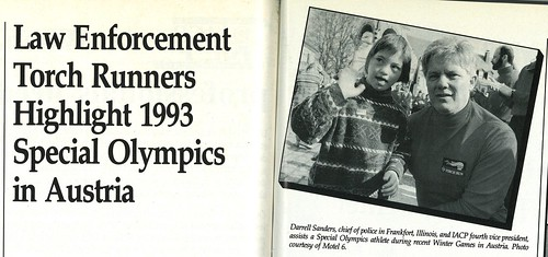 1993-Fourth VP at Special Olympics