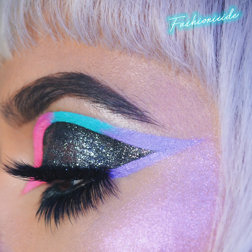 Lime Crime Velvetine Flamingo Ombre Graphic Eyeliner