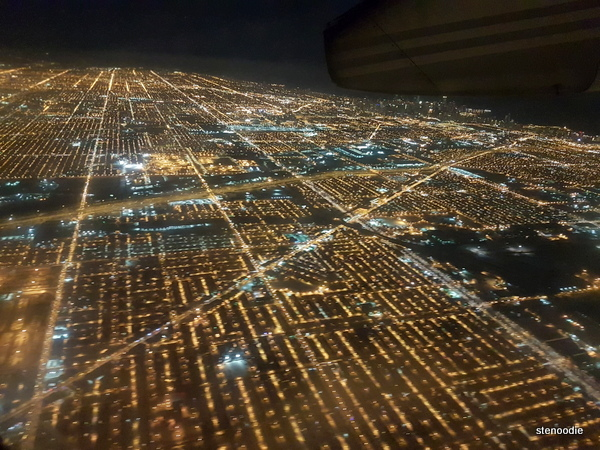 Photo above Chicago