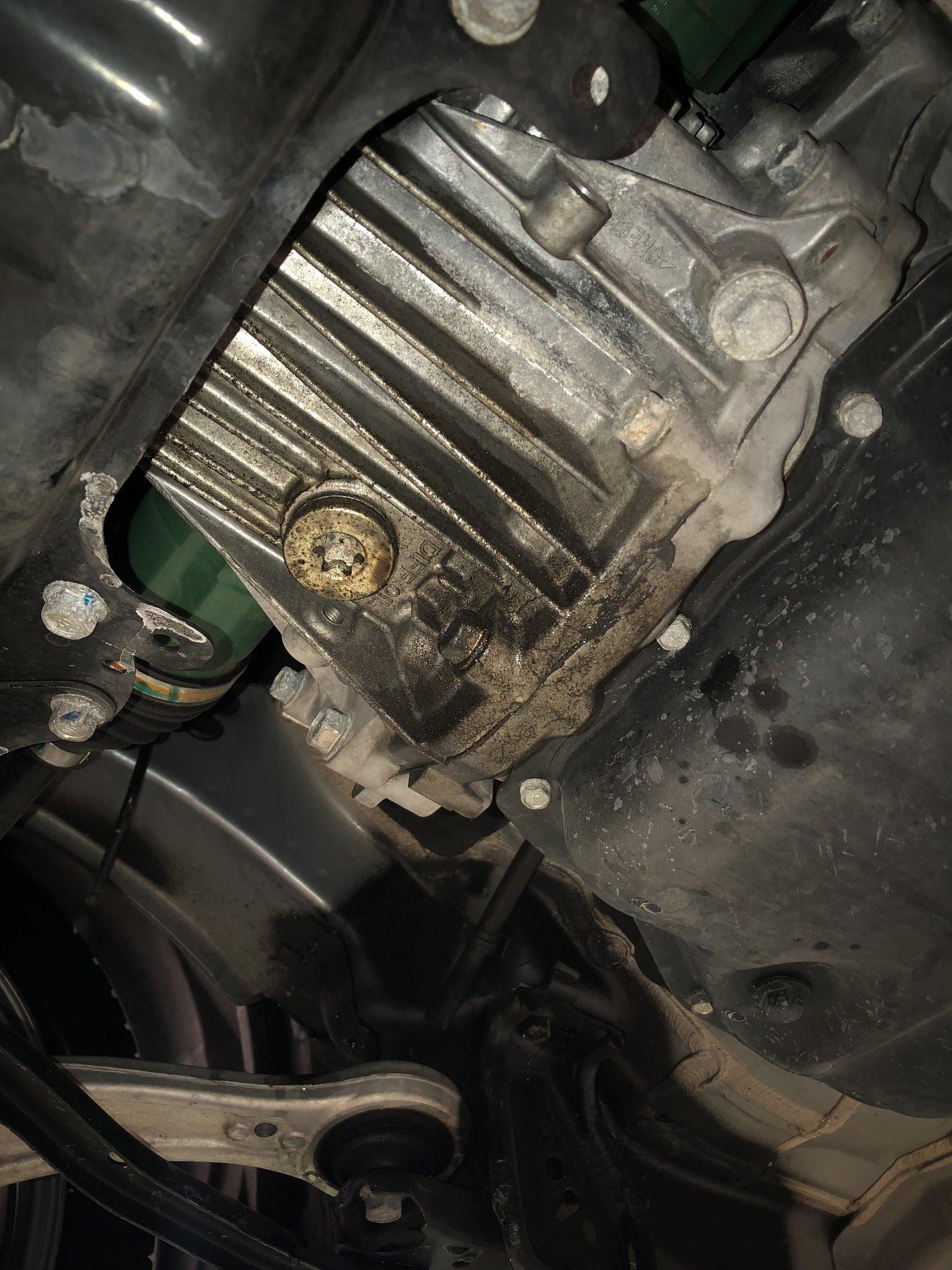2016 WRX CVT Oil leak - rear main seal? - NASIOC
