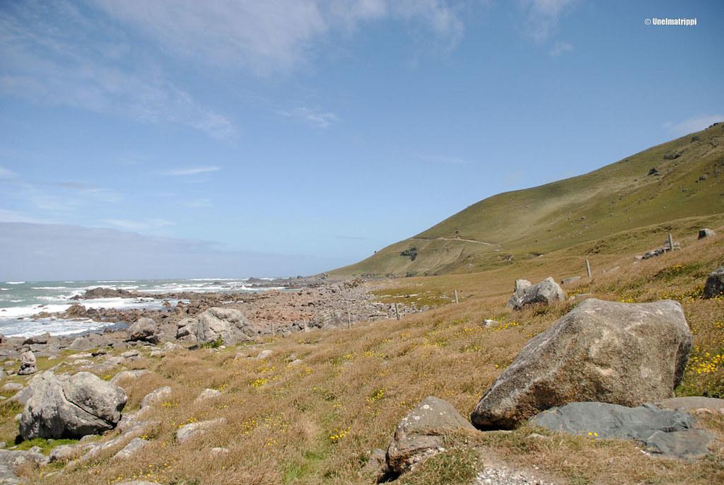 Karua maisemaa matkalla Invercargillistä Te Anauhun, Uusi-Seelanti