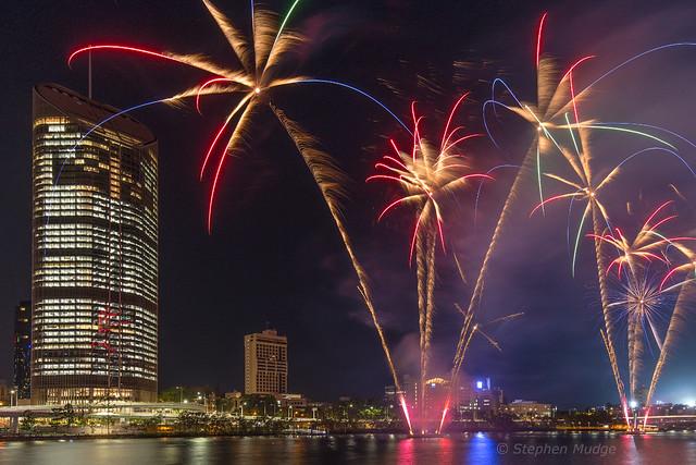 Southbank Fireworks 3