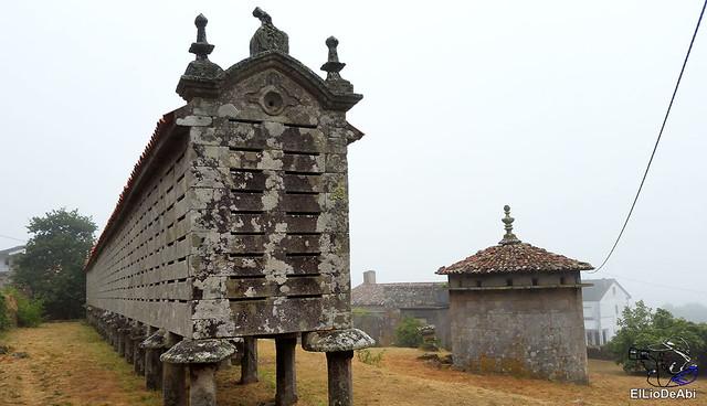 Horreos de Carnota y Lira, los mas grandes de Galicia 9