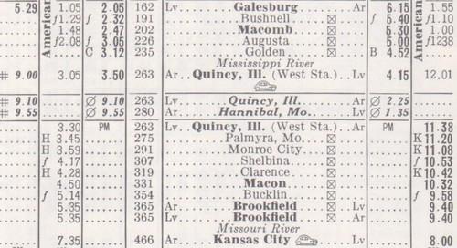 Burlington 1970 Galesburg to Kansas City