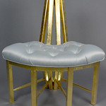 Arvada Center Prop Shop; Sogni d'Oro (Dreams of Gold); Item 150 - in SITu: Art Chair Auction