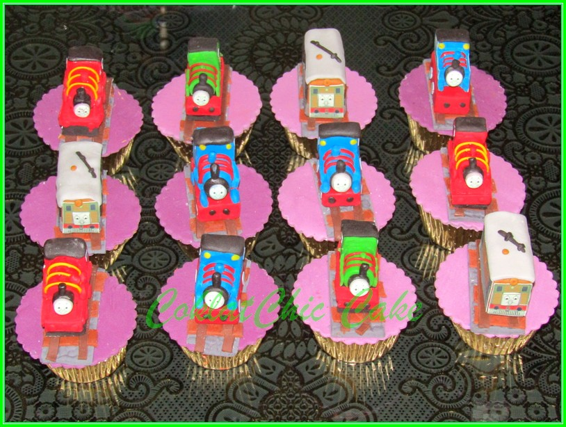 cupcake thomas & friends