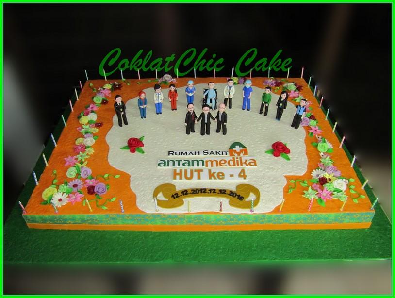 Cake RS Antam Medika 90x120cm