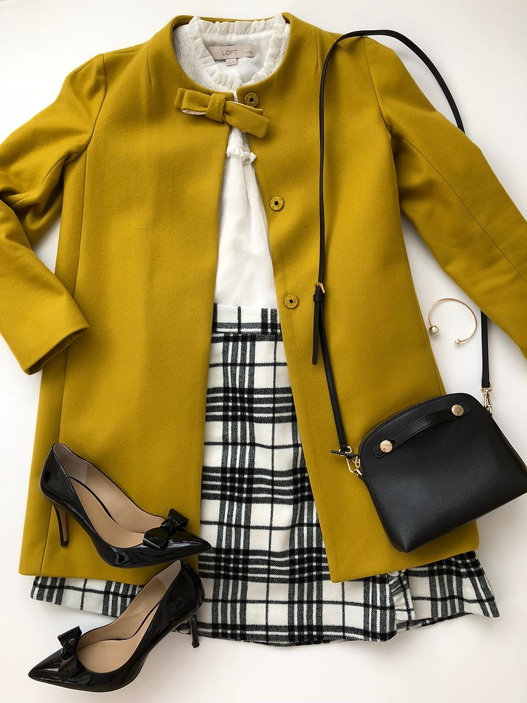 Styling a Plaid Skirt - Outfit 4