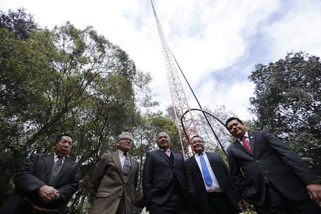 Radio Faro Cultural inaugura nuevo equipo de transmisión