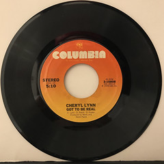 CHERYL LYNN:GOT TO BE REAL(RECORD SIDE-A)
