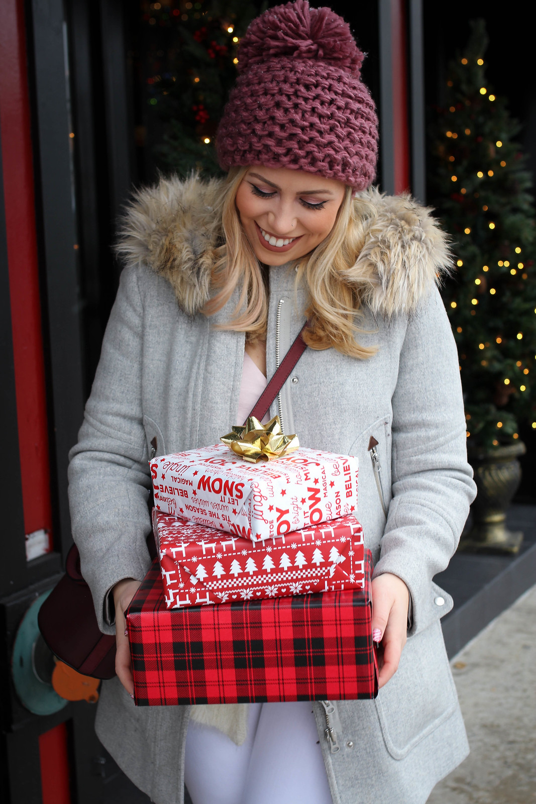 Christmas Presents J.Crew Chateau Parka Holiday Athleisure Outfit