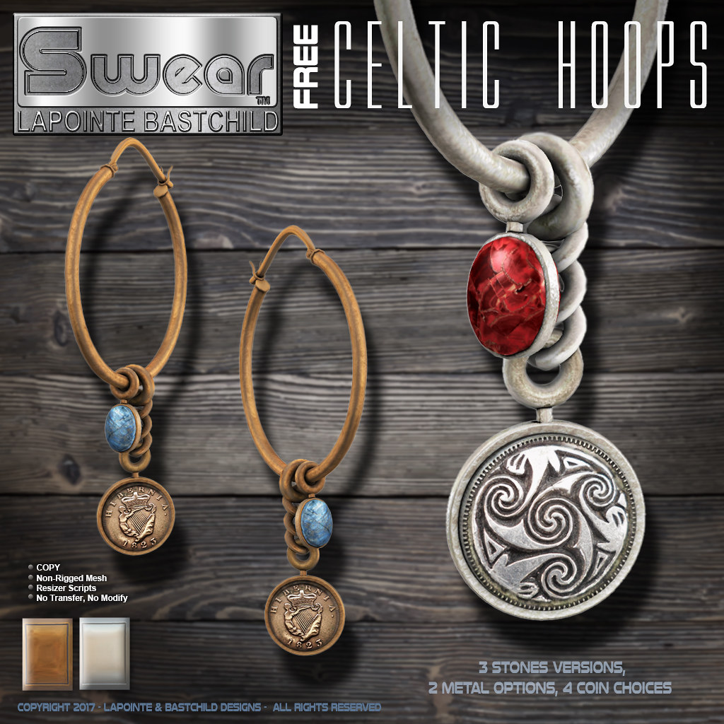 Celtic Coin Earrings - TeleportHub.com Live!