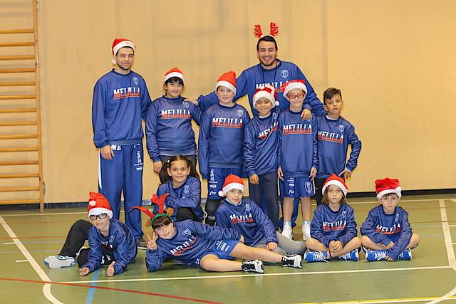 CANTERA | El Babybasket y Pequebasket celebran la Navidad
