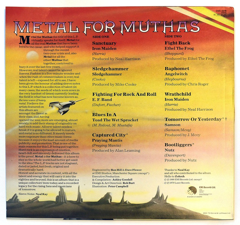 A0385 VA Various Artists Metal for Muthas