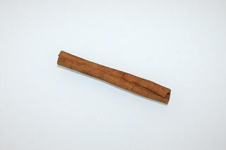 15 - Zutat Zimtstange / Ingredient cinneman stick