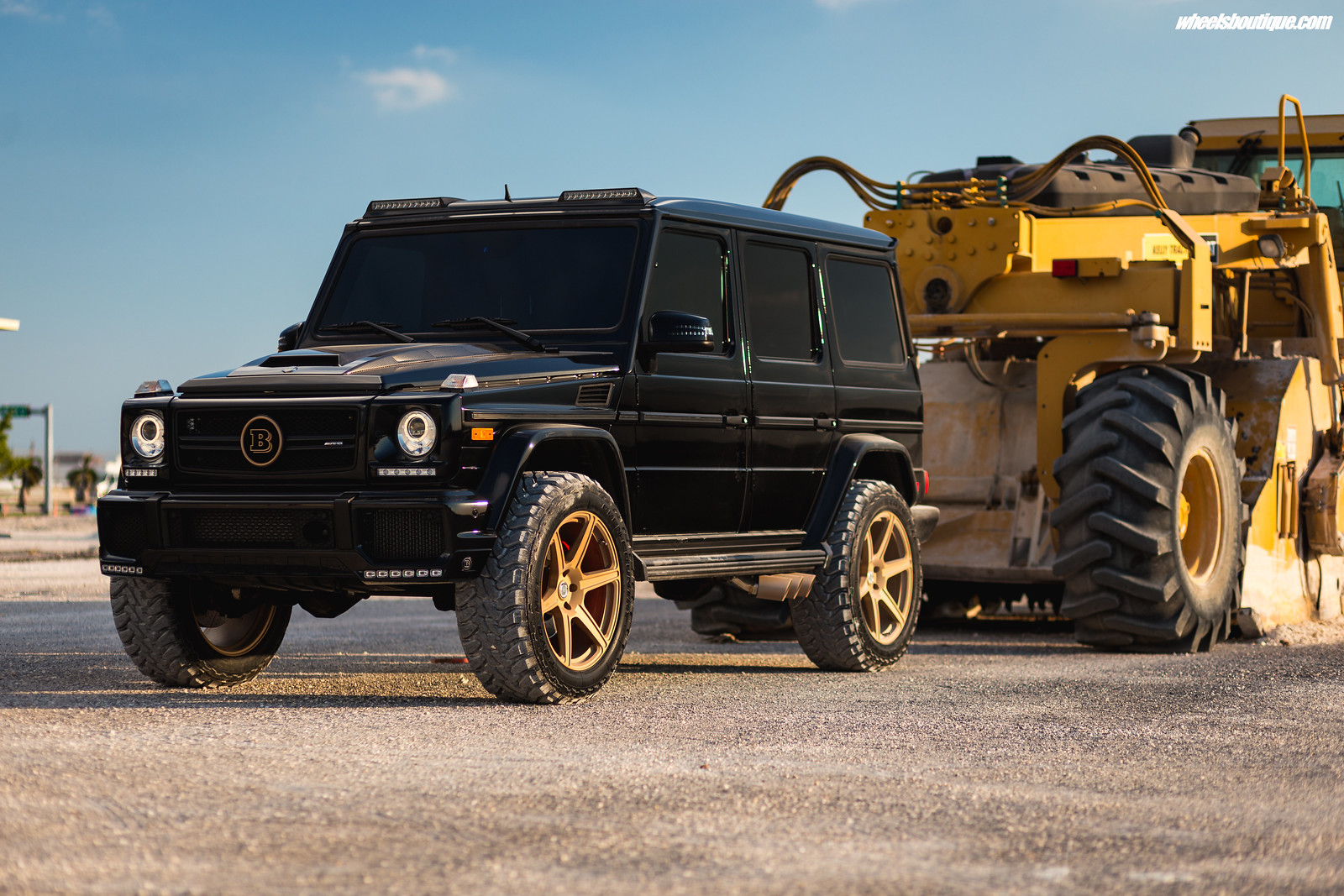 The Brabus Brawler - Another Lifted Mercedes G63 by TeamWB ...