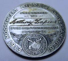 1938 Mooseheart Medal obverse